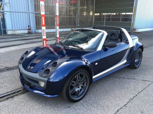 cabriolet Smart Roadster Brabus Bluewave