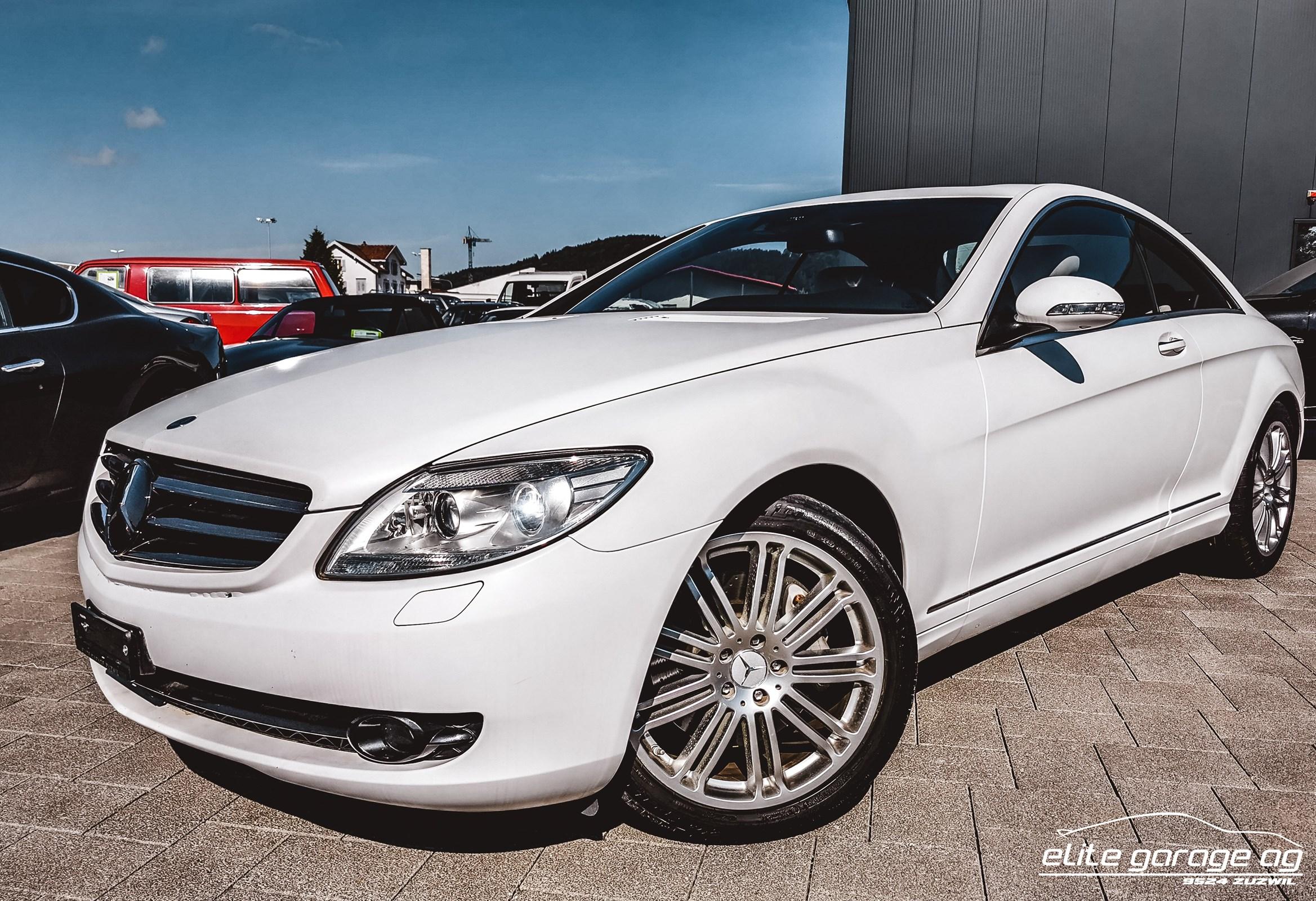 coupe Mercedes-Benz CL 500 Prime Edition