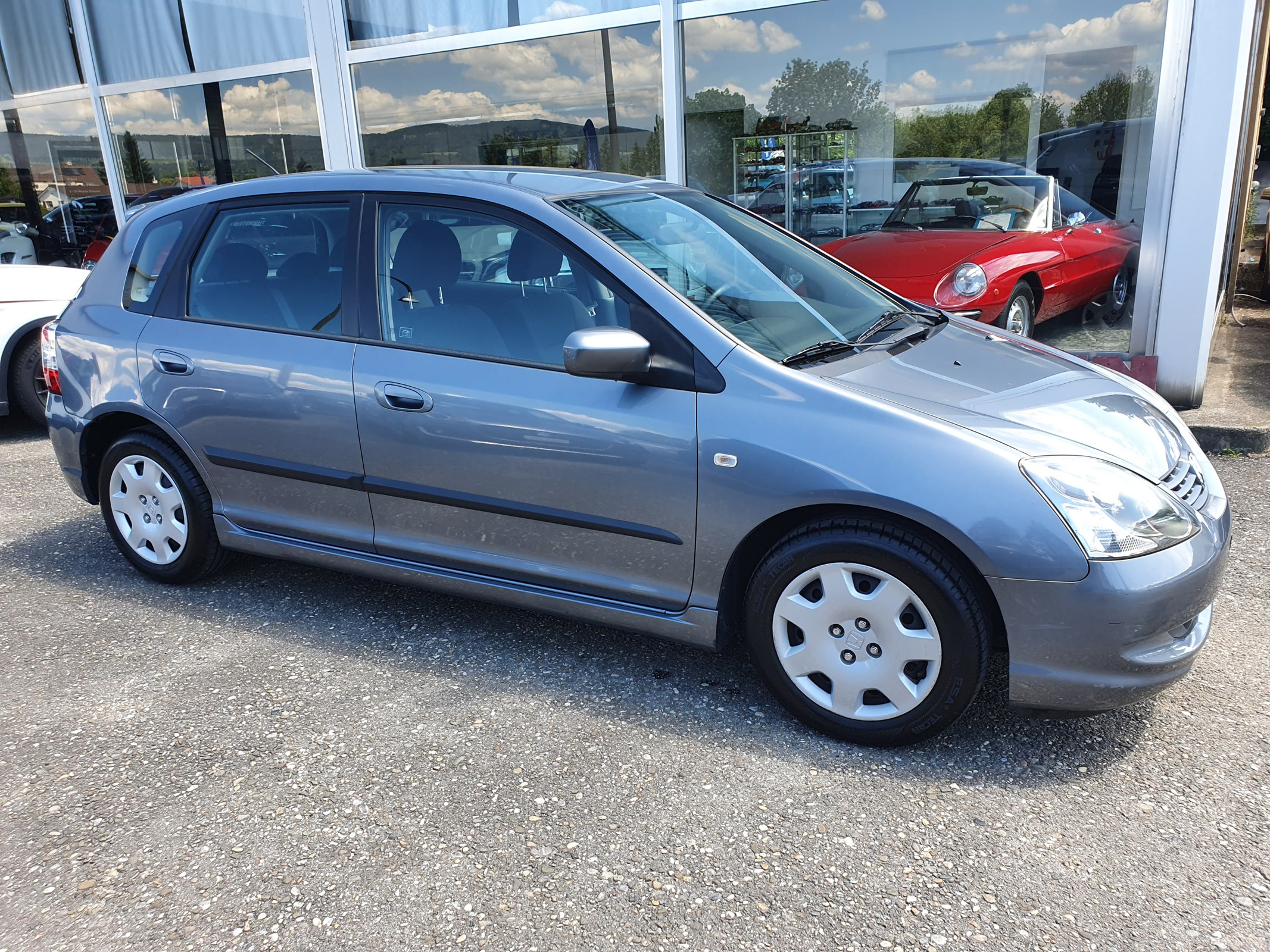 saloon Honda Civic 1.6i LS