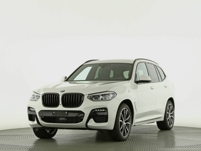 suv BMW X3 20d xDrive paddles