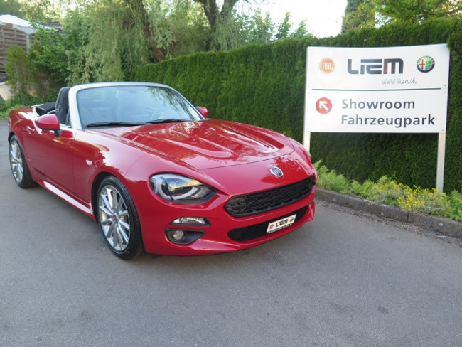 cabriolet Fiat 124 Spider 1.4 TB Lusso