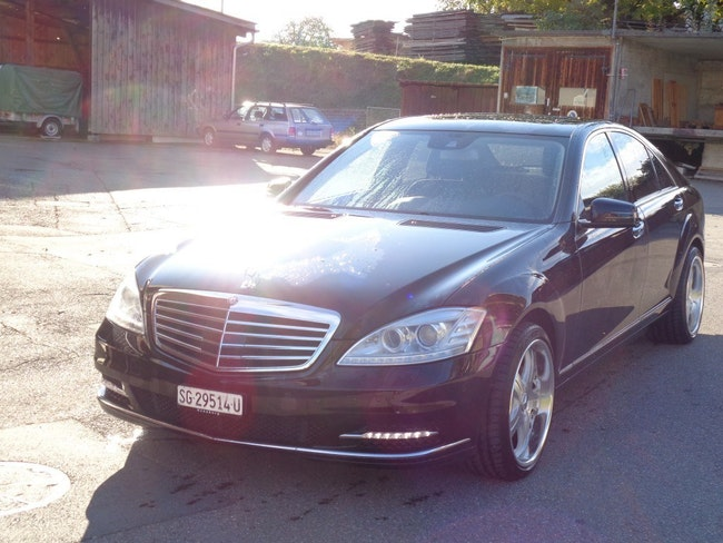 saloon Mercedes-Benz S-Klasse S 350 BlueEfficiency SS 4Matic 7G-Tronic