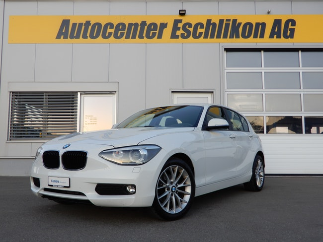 saloon BMW 1er Reihe F20 118d