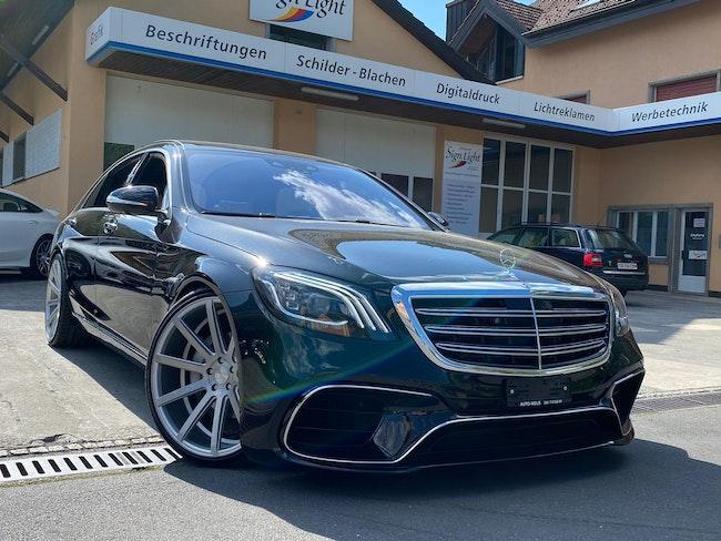 saloon Mercedes-Benz S-Klasse S 350 d L 9G-Tronic AMG-LINE WERKSGARANTIE BIS 2022