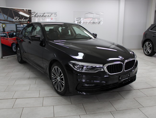 saloon BMW 5er 520d xDrive Essential Edition