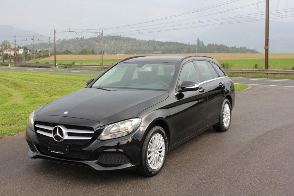 Gebraucht Kombi Mercedes-Benz C-Klasse C 220 BlueTEC 7G ...
