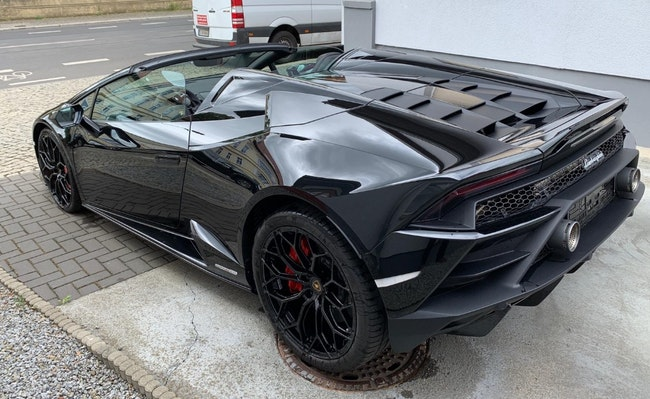 cabriolet Lamborghini Huracan SPYDER EVO MY20