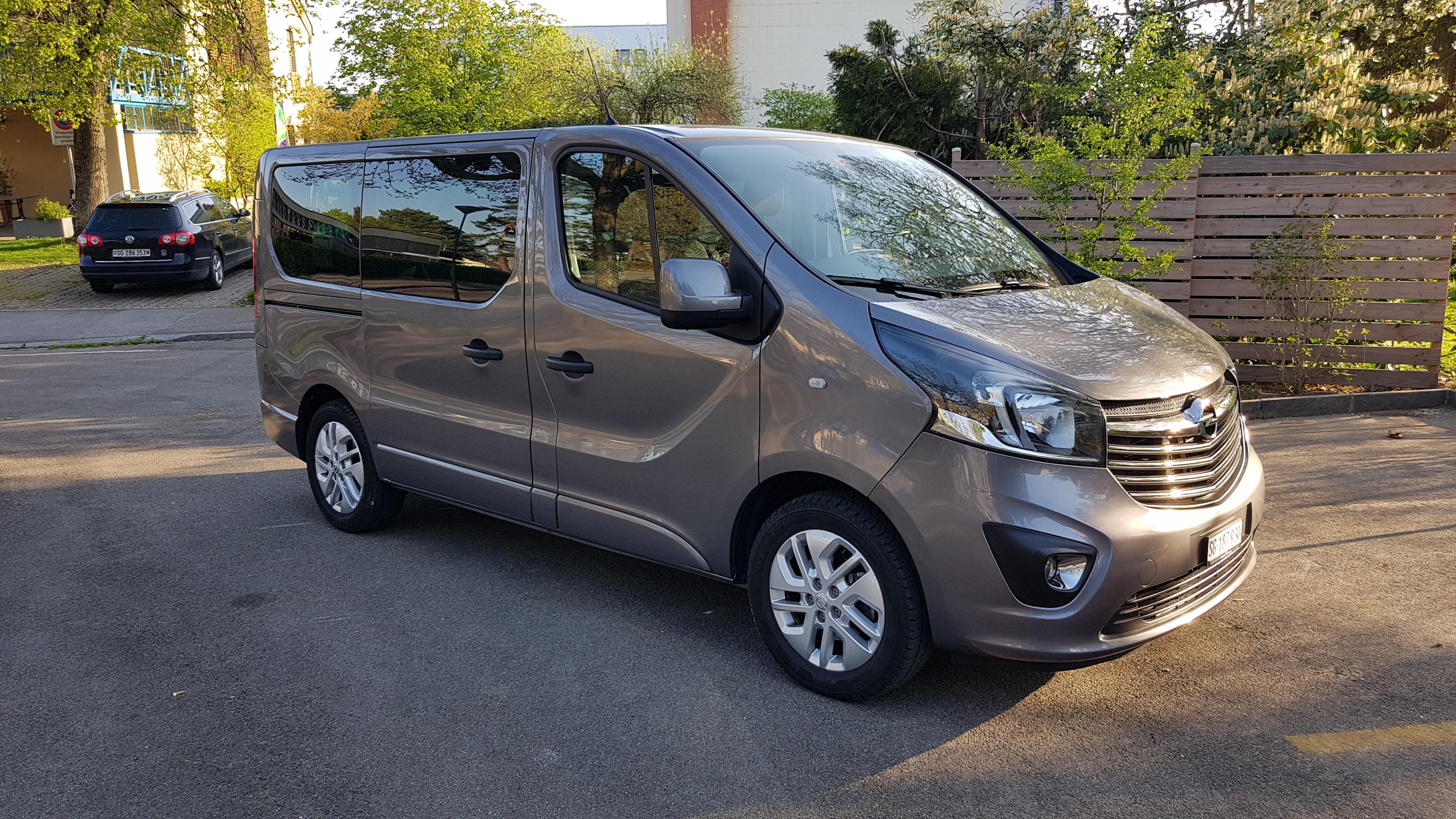 bus Opel Vivaro Kombi 2.9 t L1 H1 1.6 CDTI 125 BiT Sport S/S
