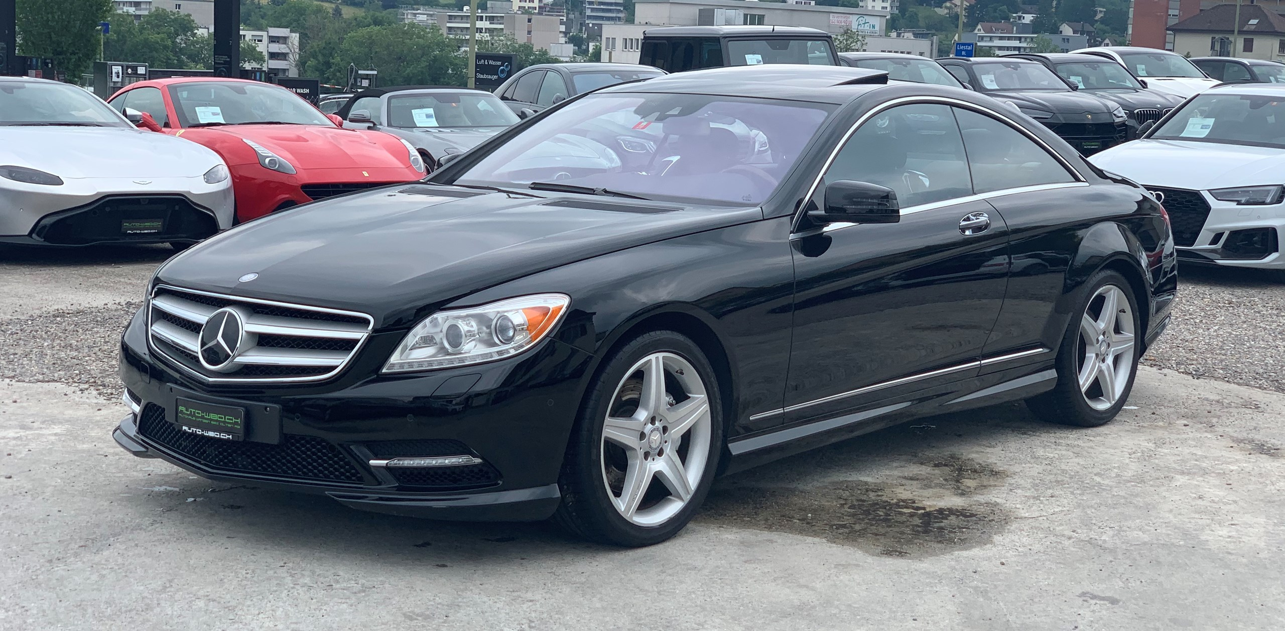 coupe Mercedes-Benz CL 500 4Matic 7G-Tronic I AMG SPORT LIME PAKET I