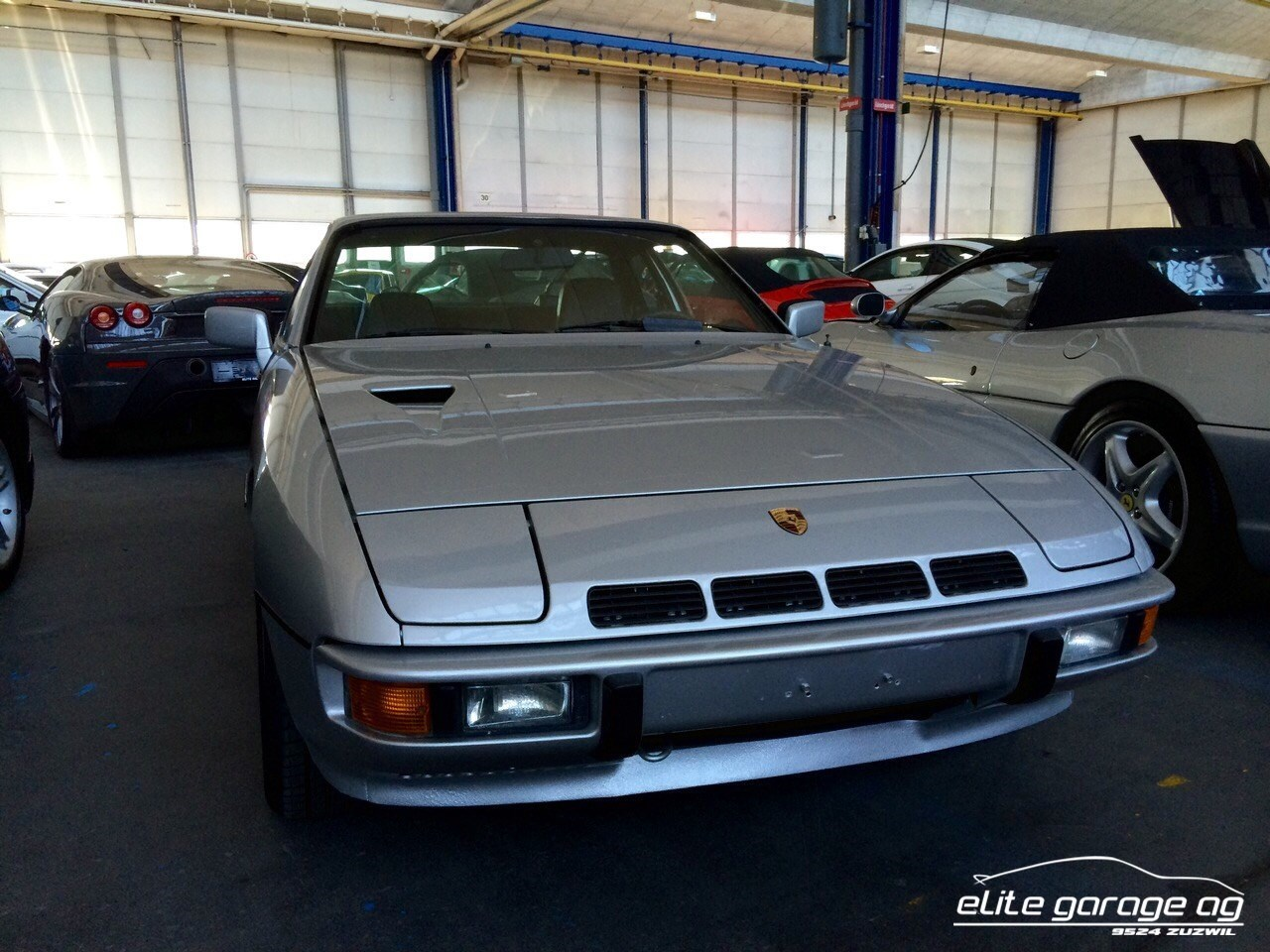 coupe Porsche 924 Turbo