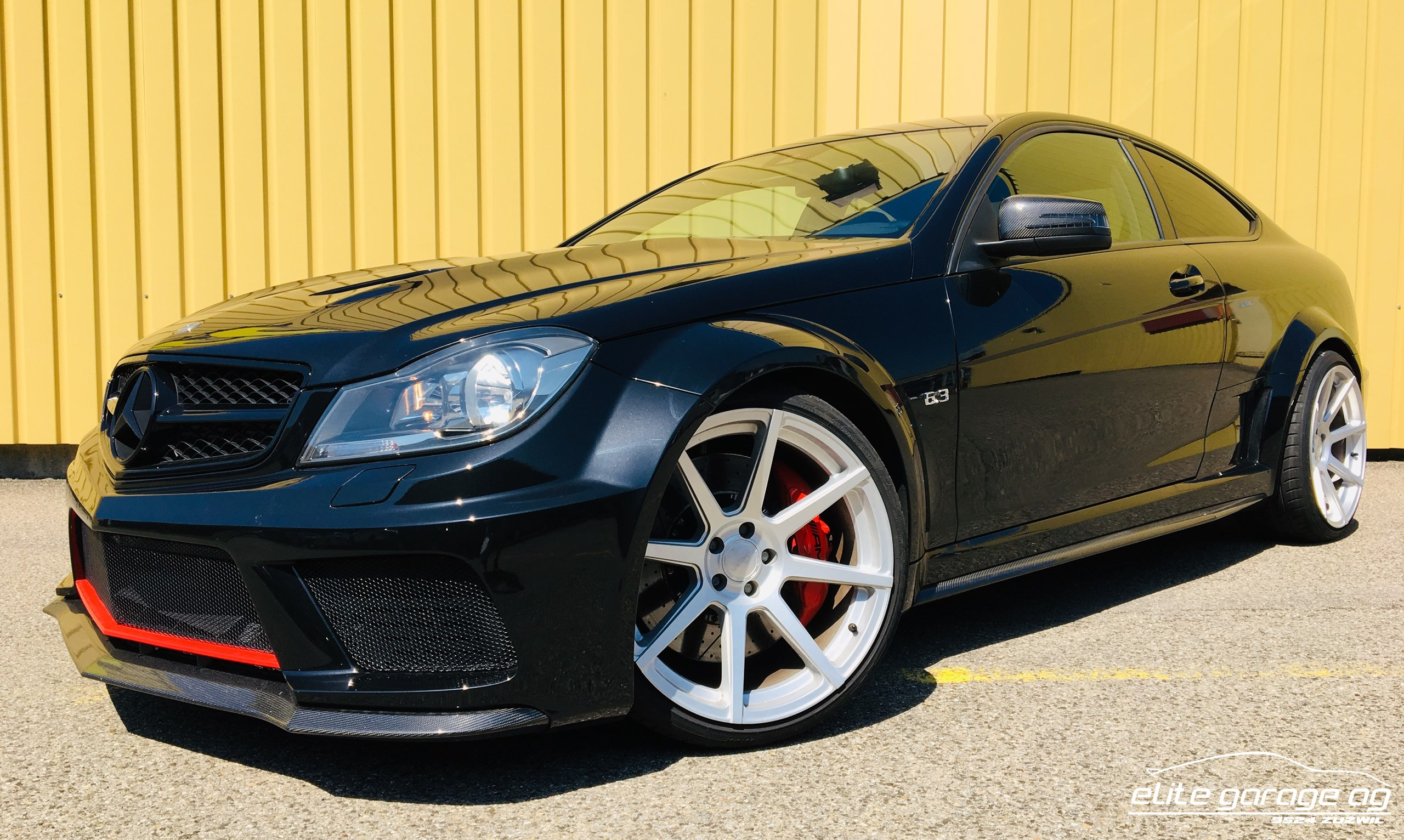 coupe Mercedes-Benz C-Klasse C 63 AMG BLACK SERIES
