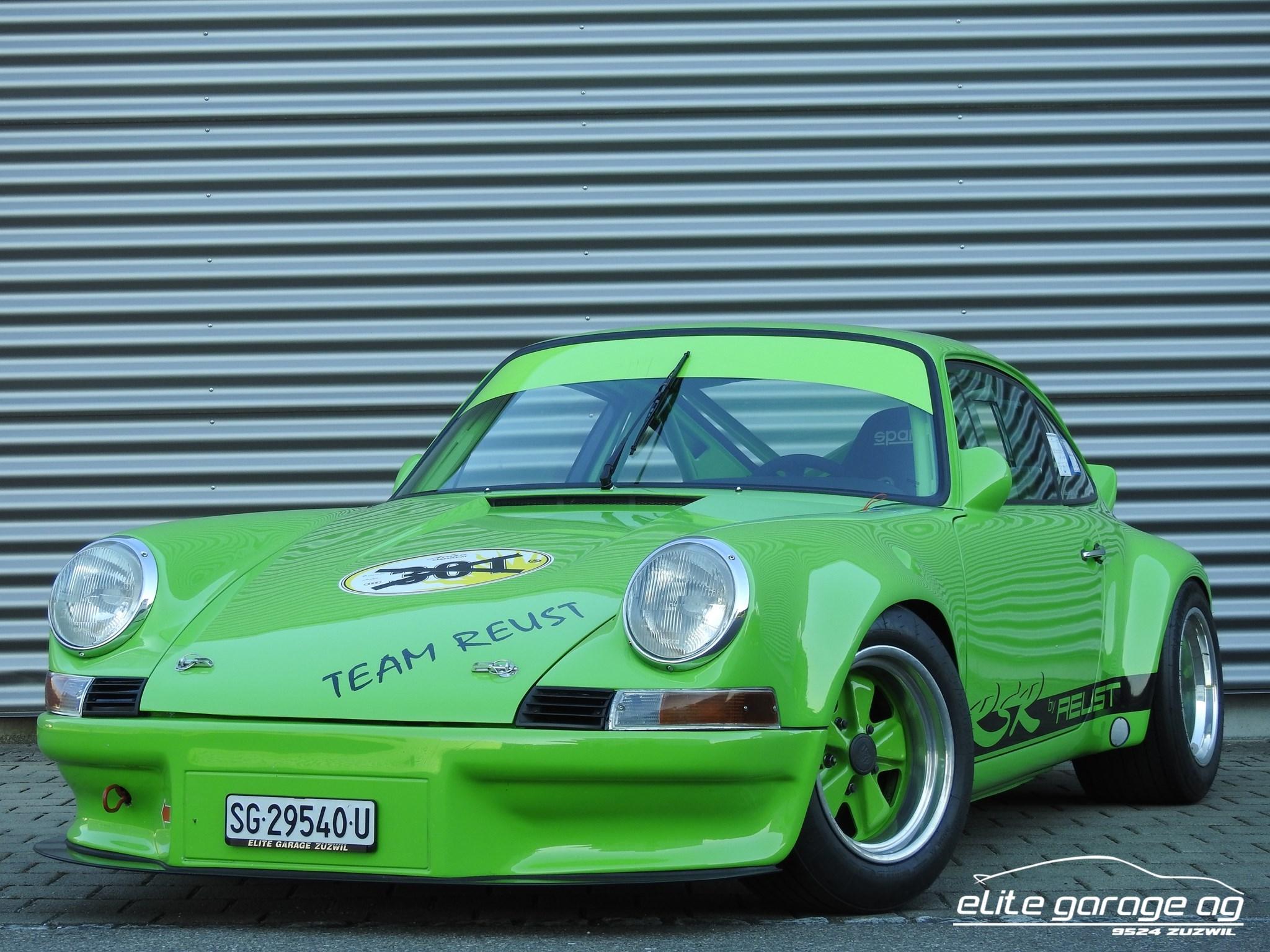 coupe Porsche 911 RSR 2.8 Neuaufbau