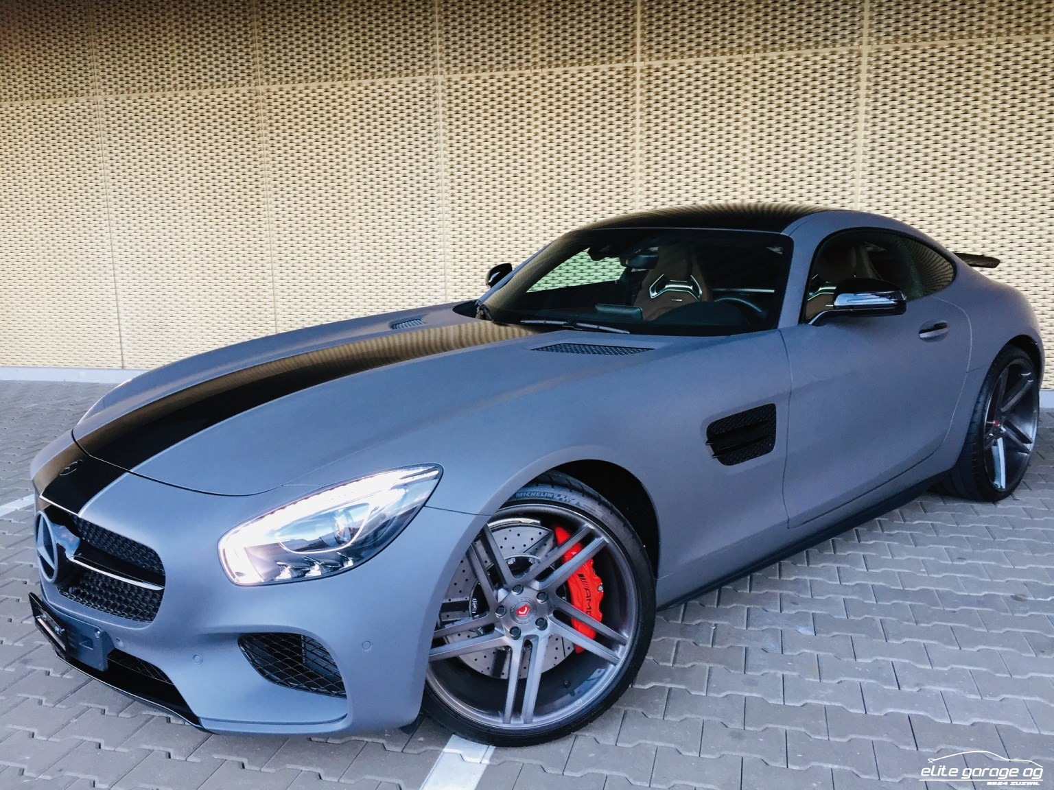 coupe Mercedes-Benz GT AMG GT S 610 PS Speedshift DCT