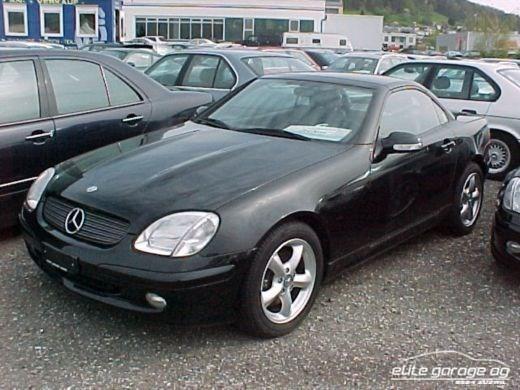 cabriolet Mercedes-Benz SLK 320