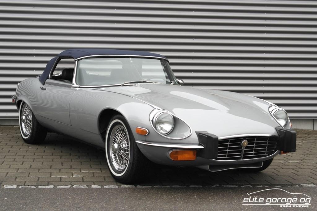 cabriolet Jaguar E-Type III