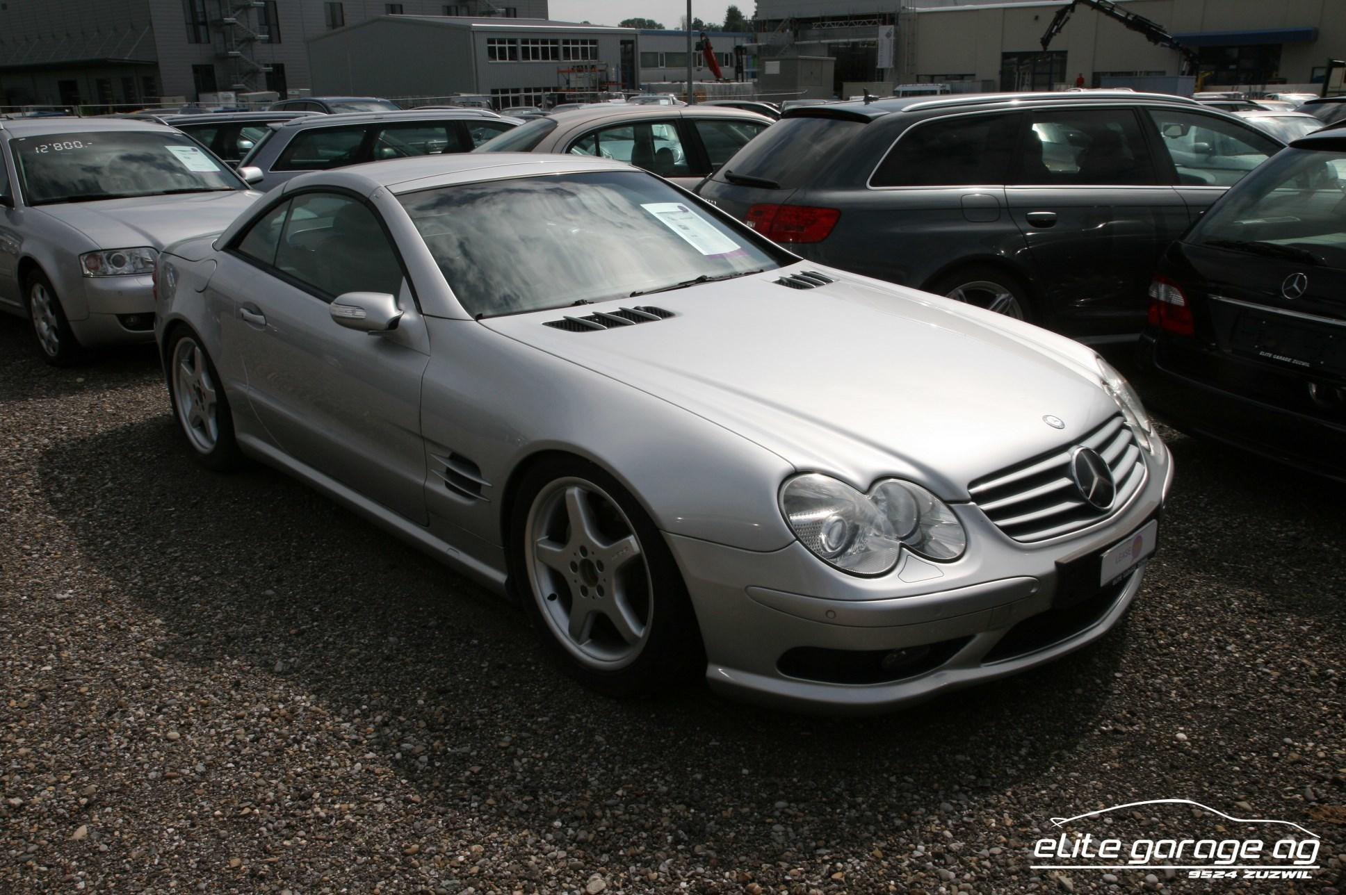 cabriolet Mercedes-Benz SL 500