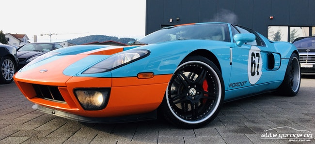 coupe Ford GT 5.4 V8 HERITAGE EDITION