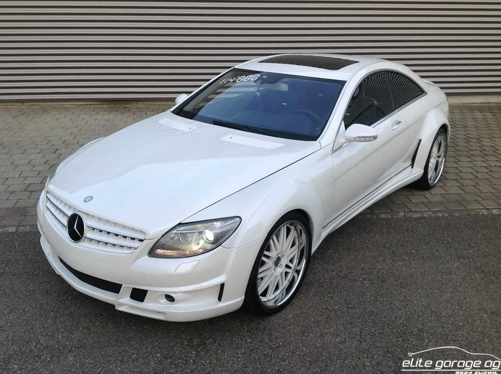 coupe Mercedes-Benz CL 63 AMG 7G-Tronic