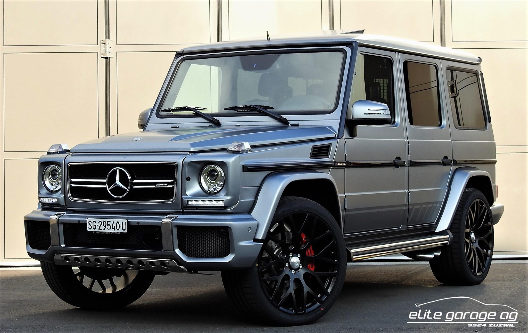 suv Mercedes-Benz G-Klasse G 63 AMG Edition 463 Speedshift Plus 7G-Tronic