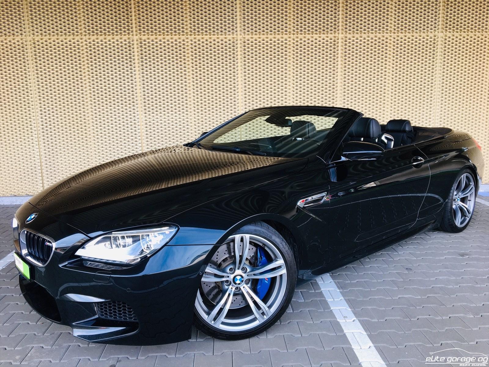 cabriolet BMW 6er M6 Cabrio Drivelogic