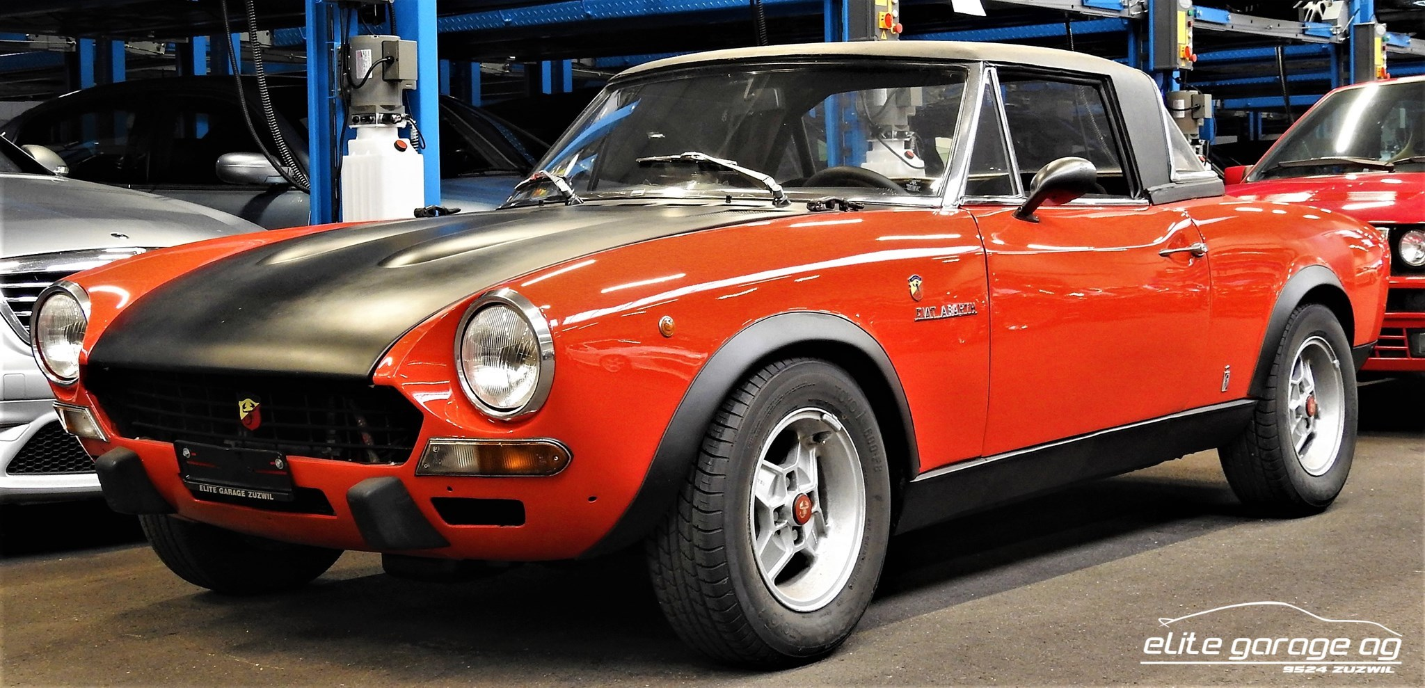 coupe Fiat 124 Spider CSA