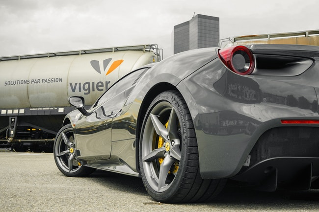 cabriolet Ferrari 488 GTB 3.9 V8