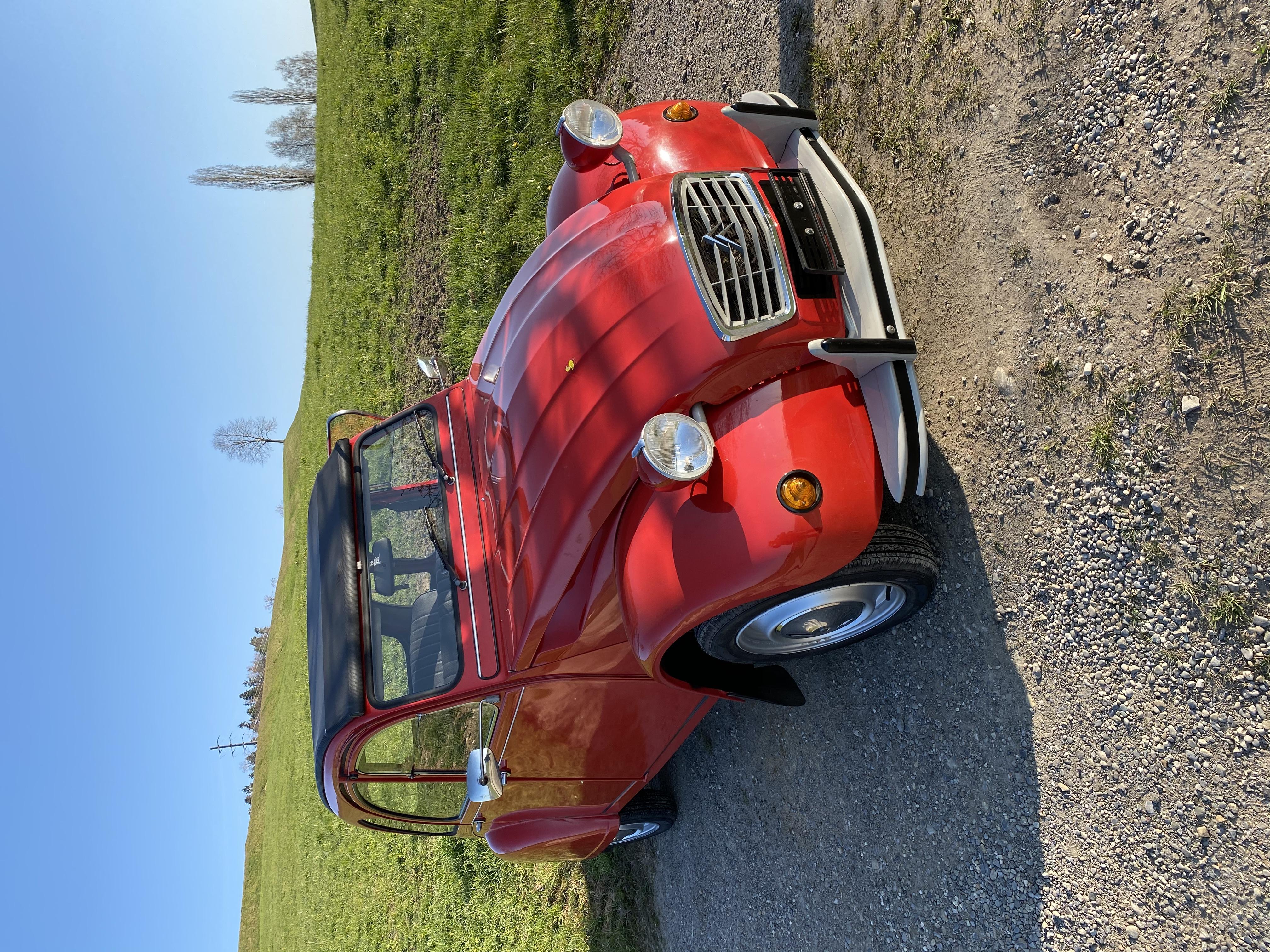 citycar Citroën 2 CV