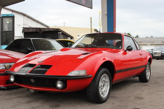coupe Opel GT 1900