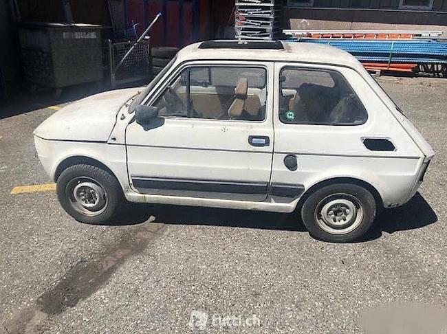 saloon Fiat 126 Fiat 126