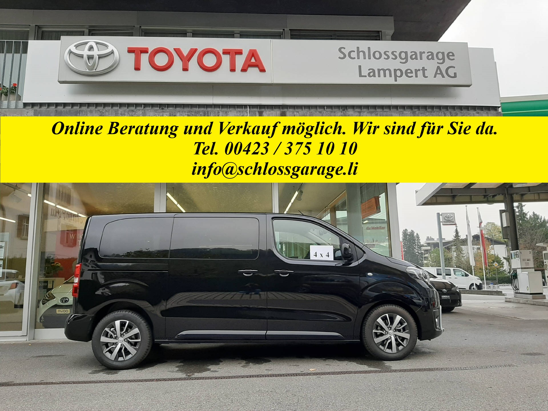 bus Toyota Proace Verso L1 2.0 D Trend 4x4