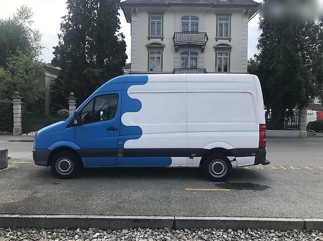 bus VW Crafter -Crafter 35 2.5 Diesel - Transporter /Camper frisch ab MFK
