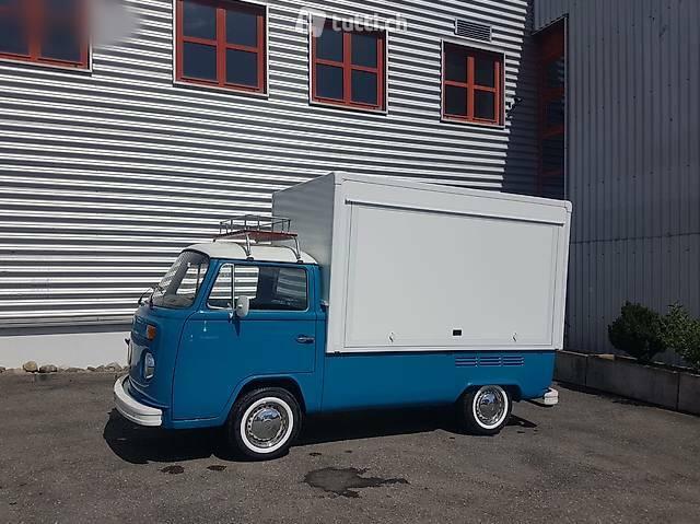 bus VW Typ 2 Bullibox Verkaufswagen T2b Food Truck