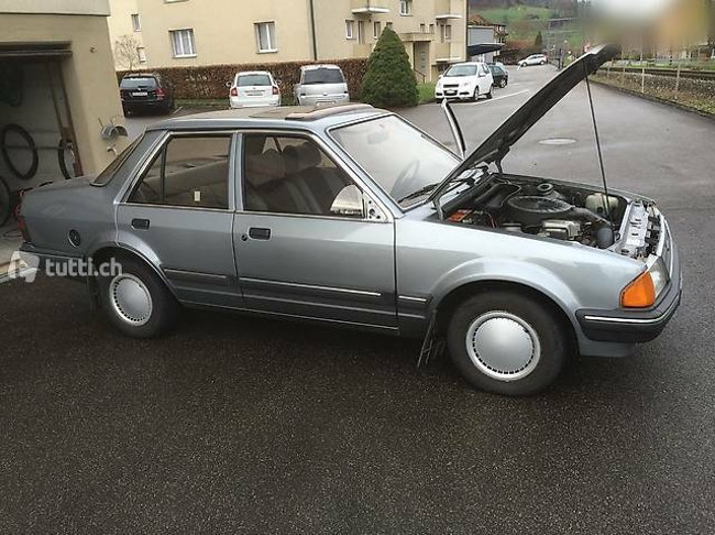 saloon Ford Orion Mk1