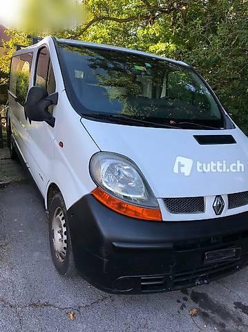 bus Renault Trafic langversion Mfk bereit (ladefläche 2.50m)