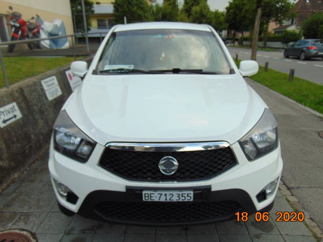 SsangYong Actyon Sports Pickup D200 DTR Crystal 74'000 km CHF15'000 - kaufen auf carforyou.ch - 1