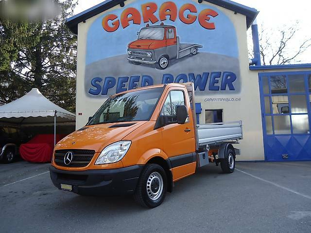bus Mercedes-Benz Sprinter MERCEDES SPRINTER CON PONTE RIBALTABILE