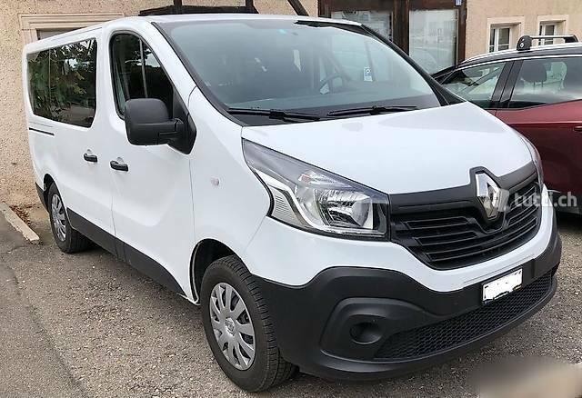 bus Renault Trafic 9 Plätzer Bus 2jahre Garantie