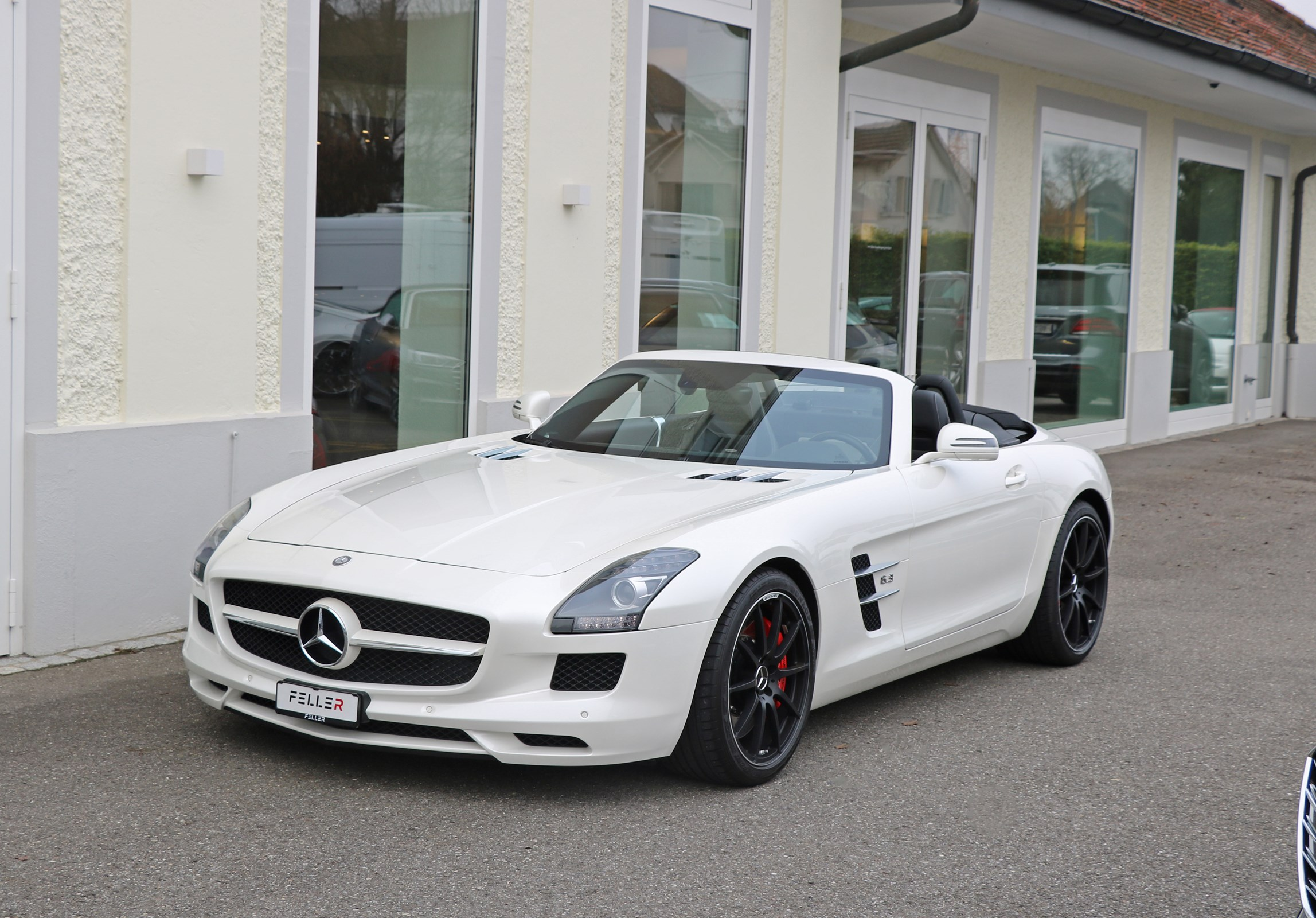 cabriolet Mercedes-Benz SLS 63 AMG Speedshift