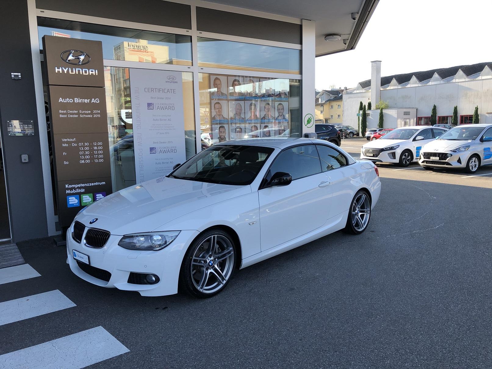 cabriolet BMW 3er 335i Cabriolet E93