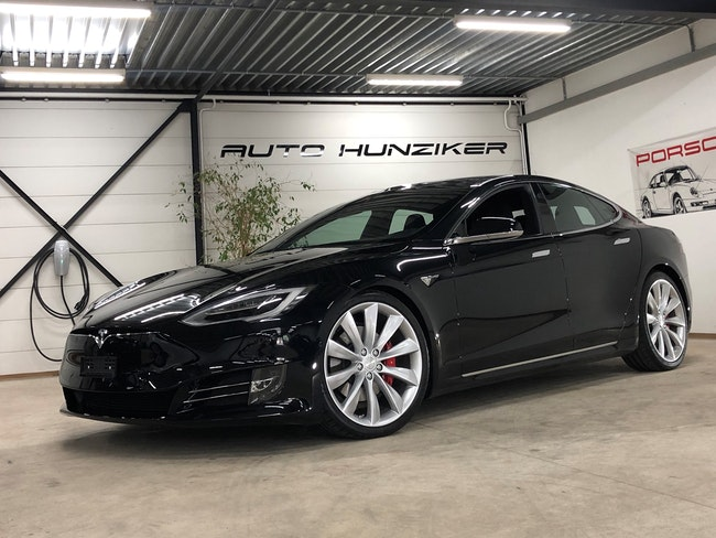 saloon Tesla Model S 100 D Ludicrous Performance 772PS mit FSD