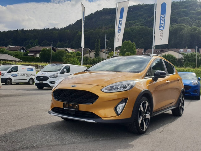 saloon Ford Fiesta 1.0 EcoB 140 Active+