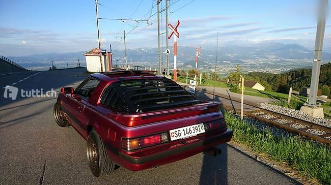 coupe Mazda RX-7 RX7 FB BJ. 1985