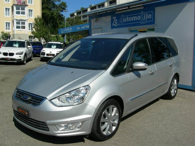 van Ford Galaxy 2.0 TDCi Ghia PowerShift