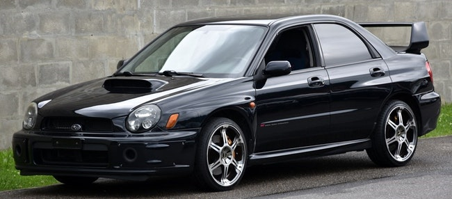 saloon Subaru Impreza 2.0 Turbo 4WD WRX STI