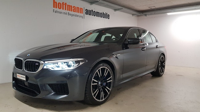 saloon BMW 5er M5 xDrive Drivelogic