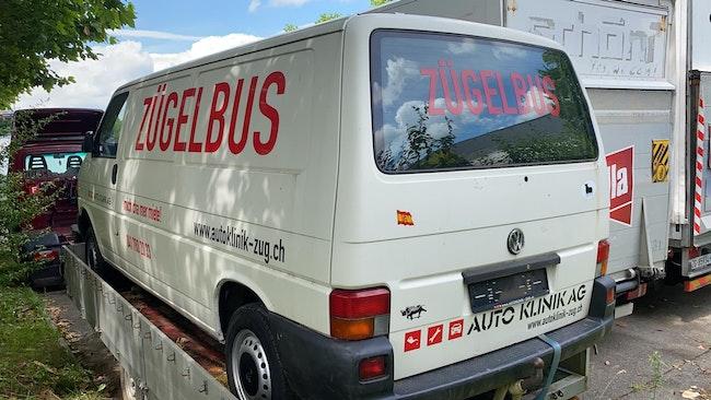 van VW T4 2.5TDI