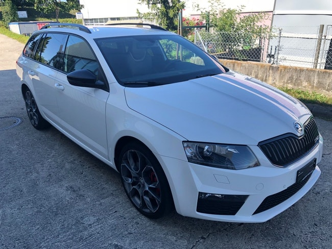 estate Skoda Octavia Combi 2.0 TDI 184 RS