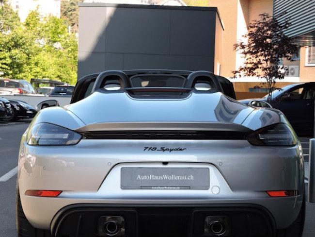 cabriolet Porsche Boxster 718 Boxster Spyder