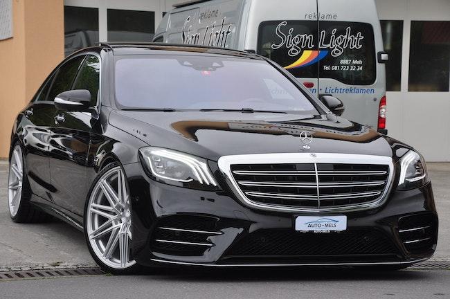 saloon Mercedes-Benz S-Klasse S 400 d L 4Matic 9G-Tronic AMG-LINE