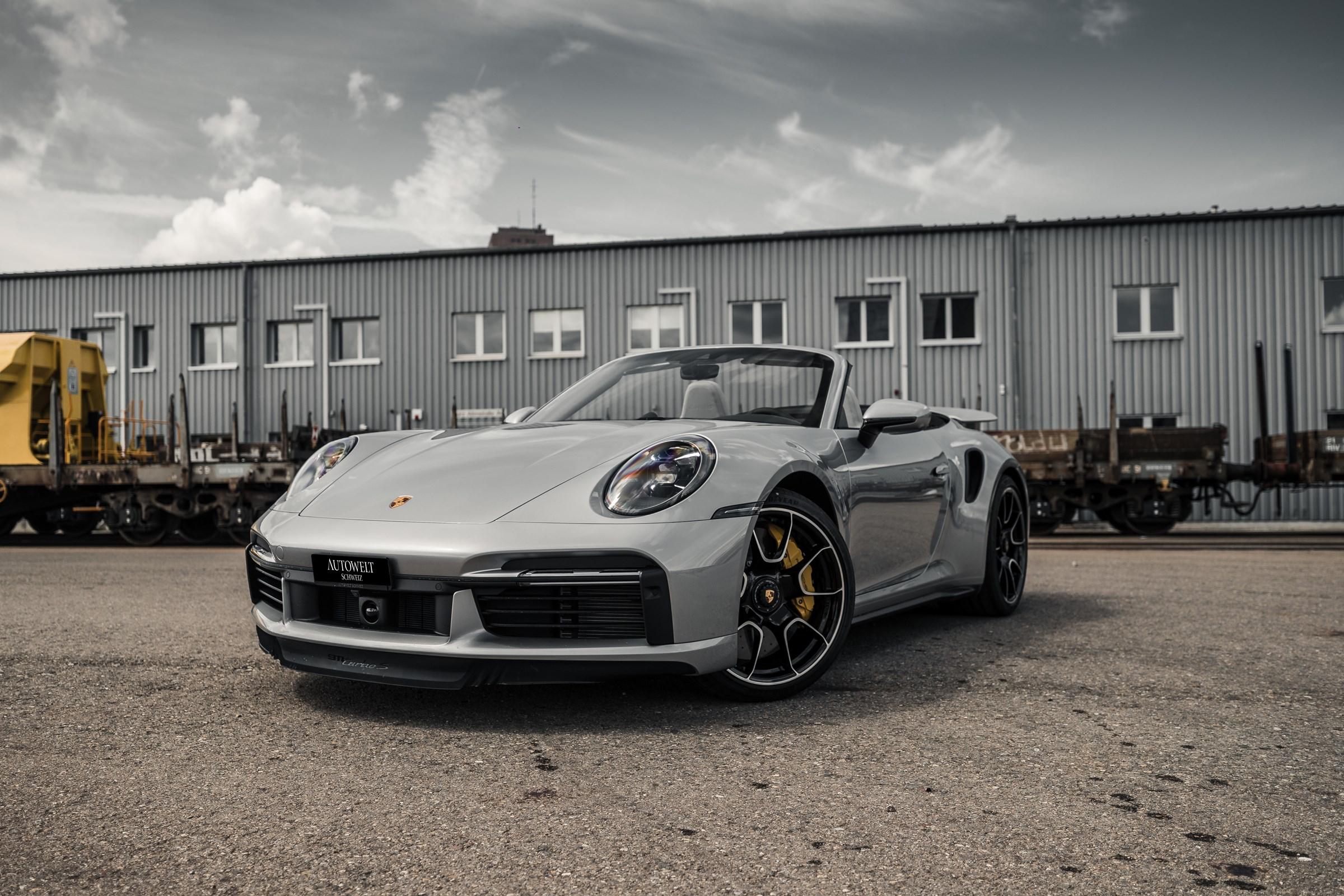 cabriolet Porsche 911 Turbo S Cabriolet PDK